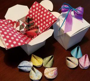 Paper Fortune Cookie Workshop
