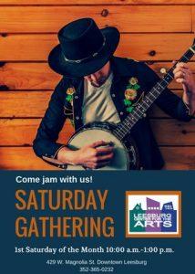Saturday Gathering Plus Drum Circle Follows