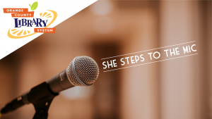 She Steps to the Mic