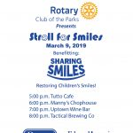 Rotary Club of the Parks Stroll for Smiles