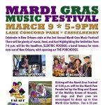 Mardi Gras Music Festival