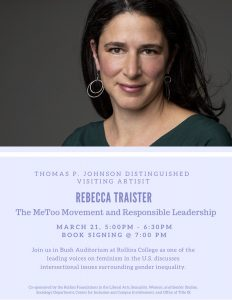 Rebecca Traister Talk and Book Signing