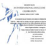 Galmont Ballet International Dance Day Celebration