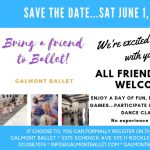 GALMONT BALLET BRING A FRIEND TO BALLET DAY!
