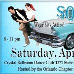 """Sock Hop"" Ballroom Dance Performance & Party"