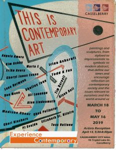 6th Annual Experience Contemporary Exhibit