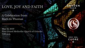 Love, Joy & Faith: A Celebration From Bach to Thomas