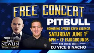 Attorney Dan Newlin Announces Free Concert To Honor Orlando Police Officer, Kevin Valencia