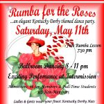 """Rumba For the Roses"" Ballroom Dance Party"