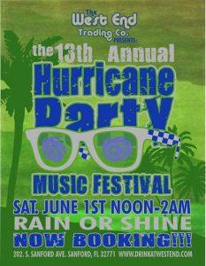 13th Annual Hurricane Party