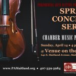 Chamber Music Players sponsored by Performing Arts Matter