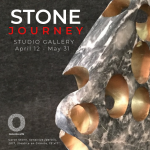 """STONE JOURNEY"" art exhibition at Osceola Arts in Kissimmee, April 12-May 31, Studio Gallery"
