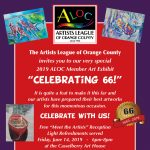 Artists League of Orange County - Celebrating 66!