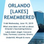 ORLANDO (LAKES) REMEMBERED