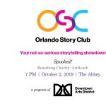 Orlando Story Club: Spooked!