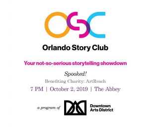 Orlando Story Club: Spooked!
