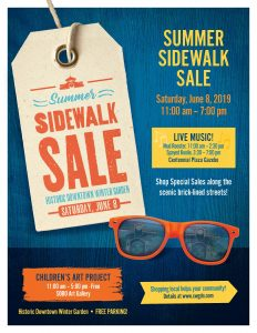 Summer Sidewalk Sale & LIVE MUSIC - Downtown W...