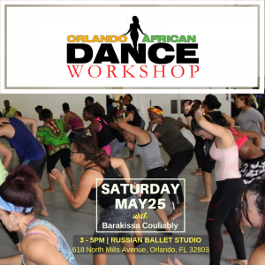 Orlando African Dance Workshop 11