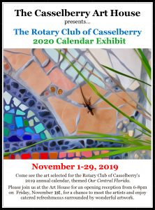 The Rotary Annual Calendar Exhibit