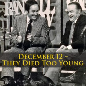 Charlie Grinker Presents: They died Too Young