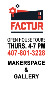 Free Tours of Factur - an Orlando Makerspace