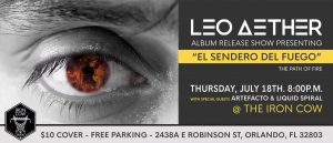 Leo Aether Album Release Party