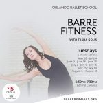 Barre Fitness with Tasha Golis