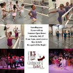 Galmont Ballet Fall Classes begin August 5