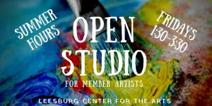 Open Studio Friday