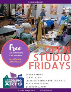 Open Studio Friday