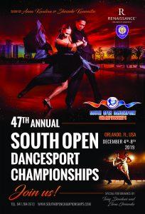 SOUTH OPEN DANCESPORT CHAMPIONSHIPS 2019
