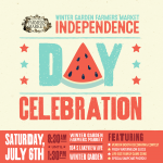 Farmers Market Independence Day Celebration-Downtown Winter Garden