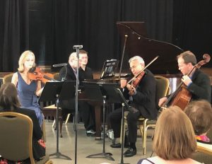 Chamber Music Players sponsored by Performing Arts...