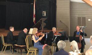 Chamber Music Players, CONCERT POSTPONED