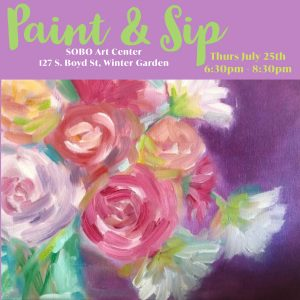 Paint & Sip at SOBO