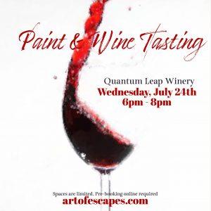 Paint & Wine Tasting