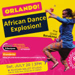 Orlando African Dance Explosion!