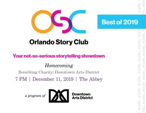 Orlando Story Club: Best of 2019: Homecoming