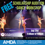 """FREE"" AMDA Scholarship Audition Dance Workshop"