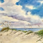 """Captured in Watercolor"" by Cindy Sturla and Stewart Jones"