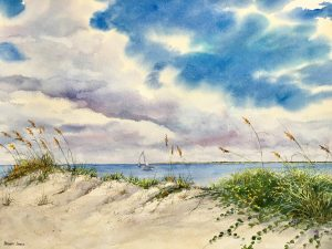 """Captured in Watercolor"" by Cindy Sturla and Stewa..."
