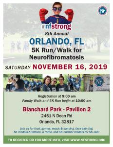 8th Annual #NFStrong 5K Walk/Run for Neurofibromat...