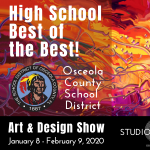 Osceola County School District High School Grade Art and Design Exhibit
