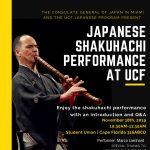 Free Japanese Shakuhachi Performance at the UCF Student Union