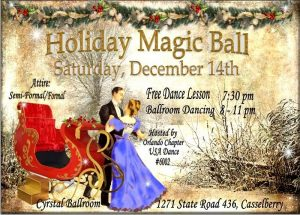 Holiday Magic Ball