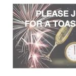 Help Us Toast to the New Year!
