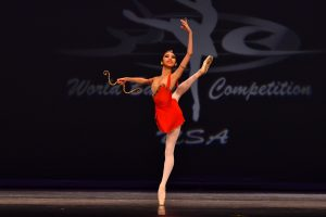 World Ballet Competition's Daily Competition Round...