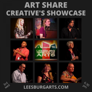 Art Share - Creative's Showcase / Open Stage