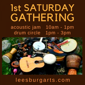 Saturday Gathering - Acoustic Jam followed by Drum...