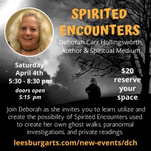 Spirited Encounters with Deborah Carr Hollingswort...